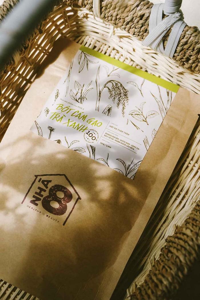 Cám gạo trà xanh làm đẹp có công dụng gì