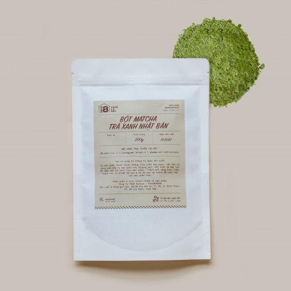 Bột Matcha Trà Xanh Nhật Bản - Japanese Matcha Green Tea Powder